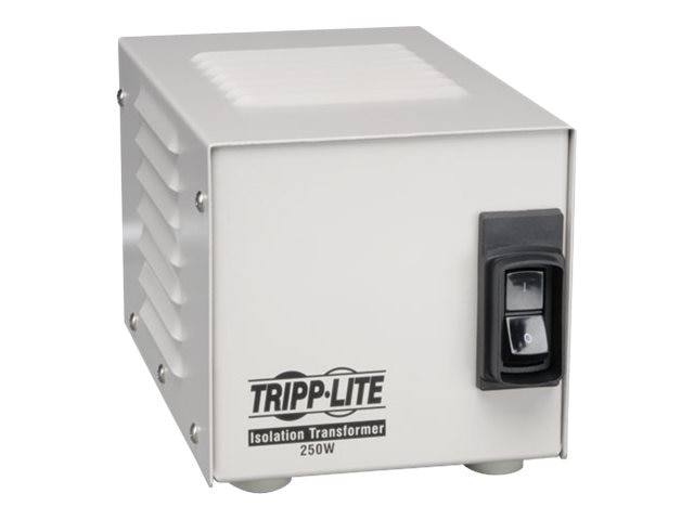 Tripp Lite Isolation Transformer Hospital Grade 250 Watts (2) Outlets 6ft Cord UL2601-1, IS250HG, 4918100, Power Converters