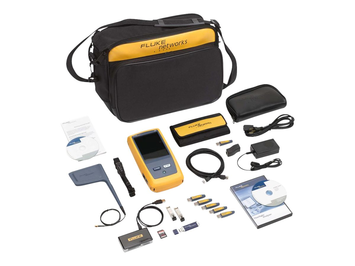 Fluke ONETOUCH AT G2 3000 AND        PERPCLEARSIGHT ANALYZER PC SW ON CD, 1TG2-3000-CSA, 30564333, Network Test Equipment
