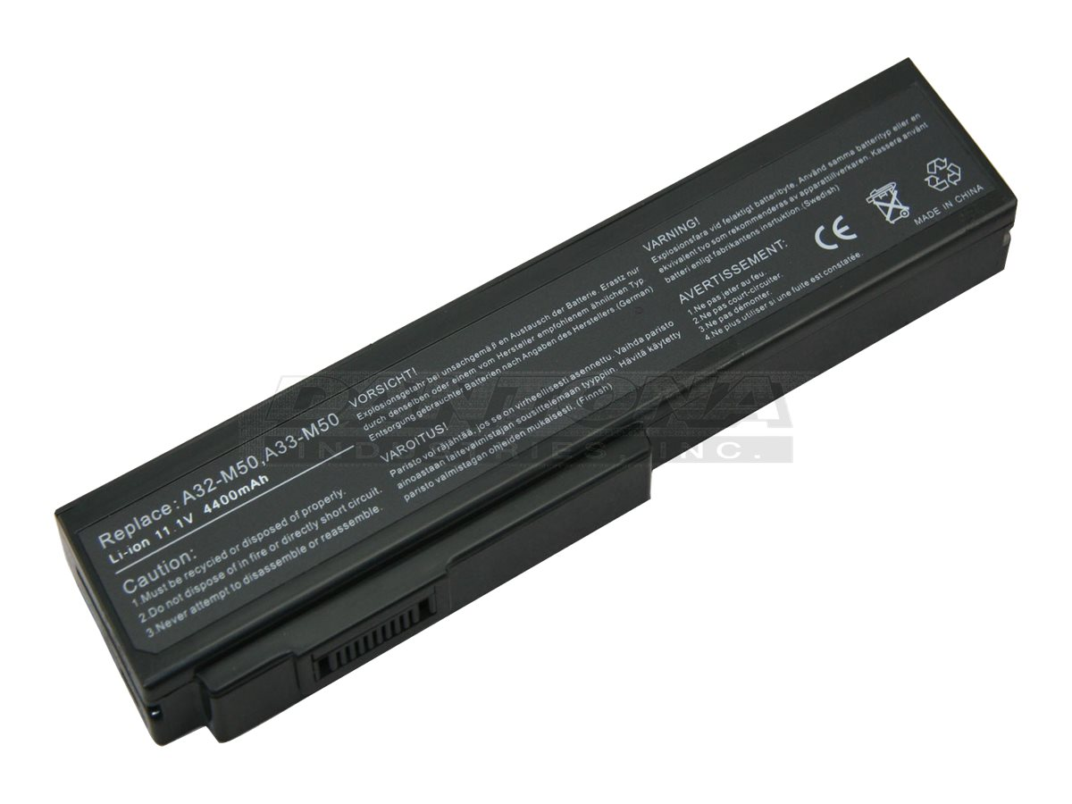 Denaq Replacement Battery for Asus G50, NM-A32-M50