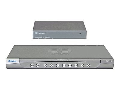 Raritan MasterConsole CAT28 Dual USer, 8-Port Cat5 KVM Switch with User Station, MCCAT28-UST, 10098671, KVM Switches