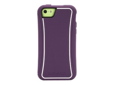 Griffin SurvivorSlim iPhone 5c Purple, GB38172, 16233044, Carrying Cases - Phones/PDAs