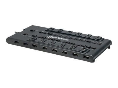 Manhattan Mondohub 28-port Powered Hub, 161718, 16137845, USB & Firewire Hubs
