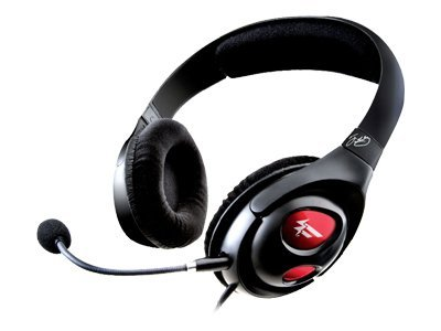 Creative Labs HS-800 Fatal1ty Gaming Headset, Black, 51MZ0310AA005