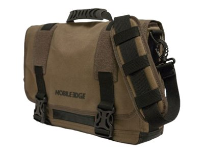 Mobile Edge UB TAB 14.1 15 Mac Eco-Messenger Olive, MEUME9, 19334060, Carrying Cases - Notebook