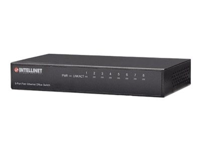 Intellinet 8-Port Ethernet Desktop Switch