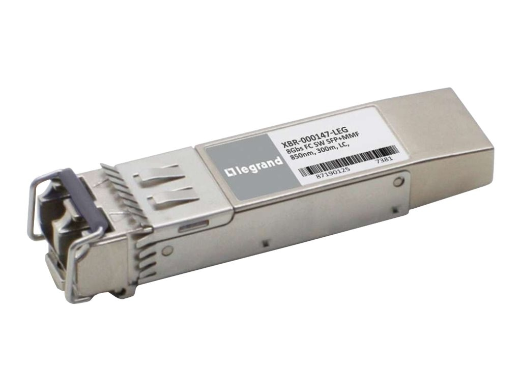 C2G Brocade XBR-000147 Compatible 8Gbps Fibre Channel SW SFP+ TAA Transceiver