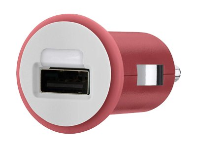 Belkin Mixit Up Car Charger 10 Watt 2.1 Amp, Red, F8J002TTRED
