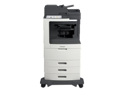 Lexmark MX811dtpe Monochrome Laser Multifunction Printer, 24T7425