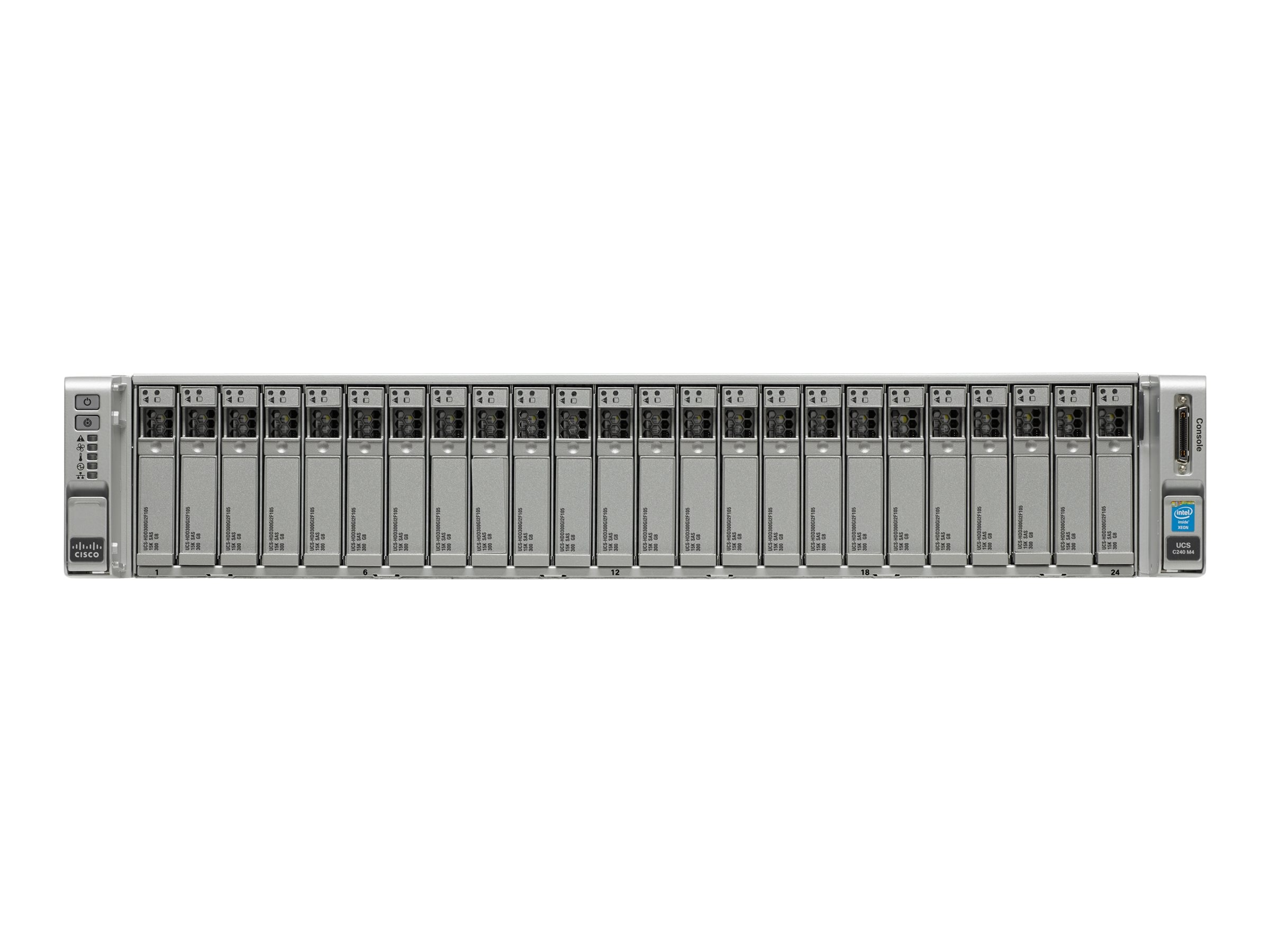 Cisco SmartPlay Select C240 M4 Standard 2 (2x)E5-2620 v3 128GB VIC1227 2x1400W, UCS-SPL-C240M4-S2