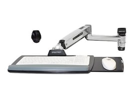 Ergotron LX Sit-Stand Wall Mount Keyboard Arm, 45-354-026, 15017809, Stands & Mounts - AV