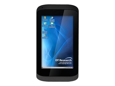 DT Research DT432SC-MD 4.3 Capacitive 480x800 POS Terminal, 800MHz, 4GB 512MB, Win CE 6.0, 2D Scanner, White, 432SC-012-MD