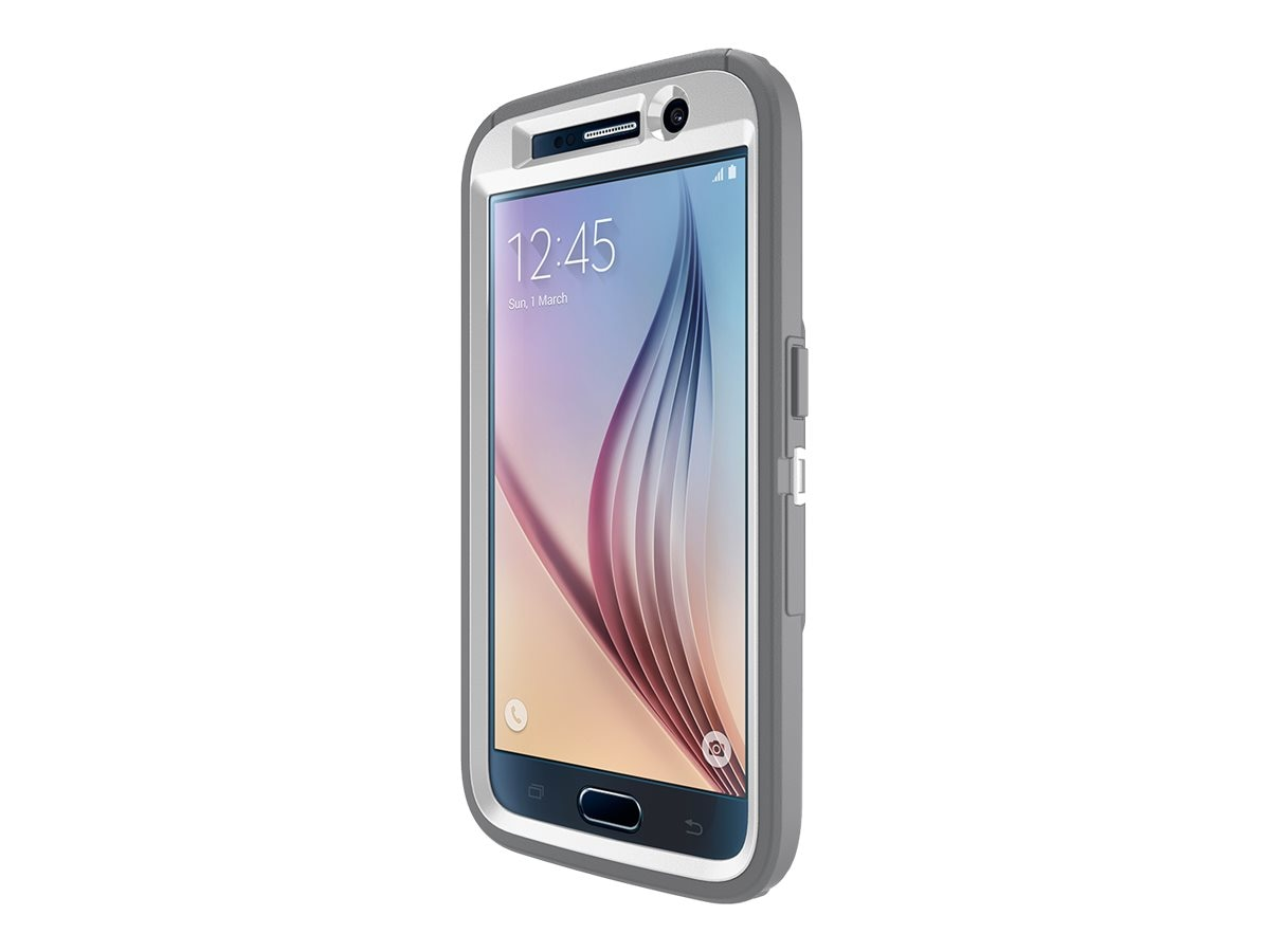 OtterBox Defender for Samsung Galaxy S6, B2B Pro Pack, Glacier