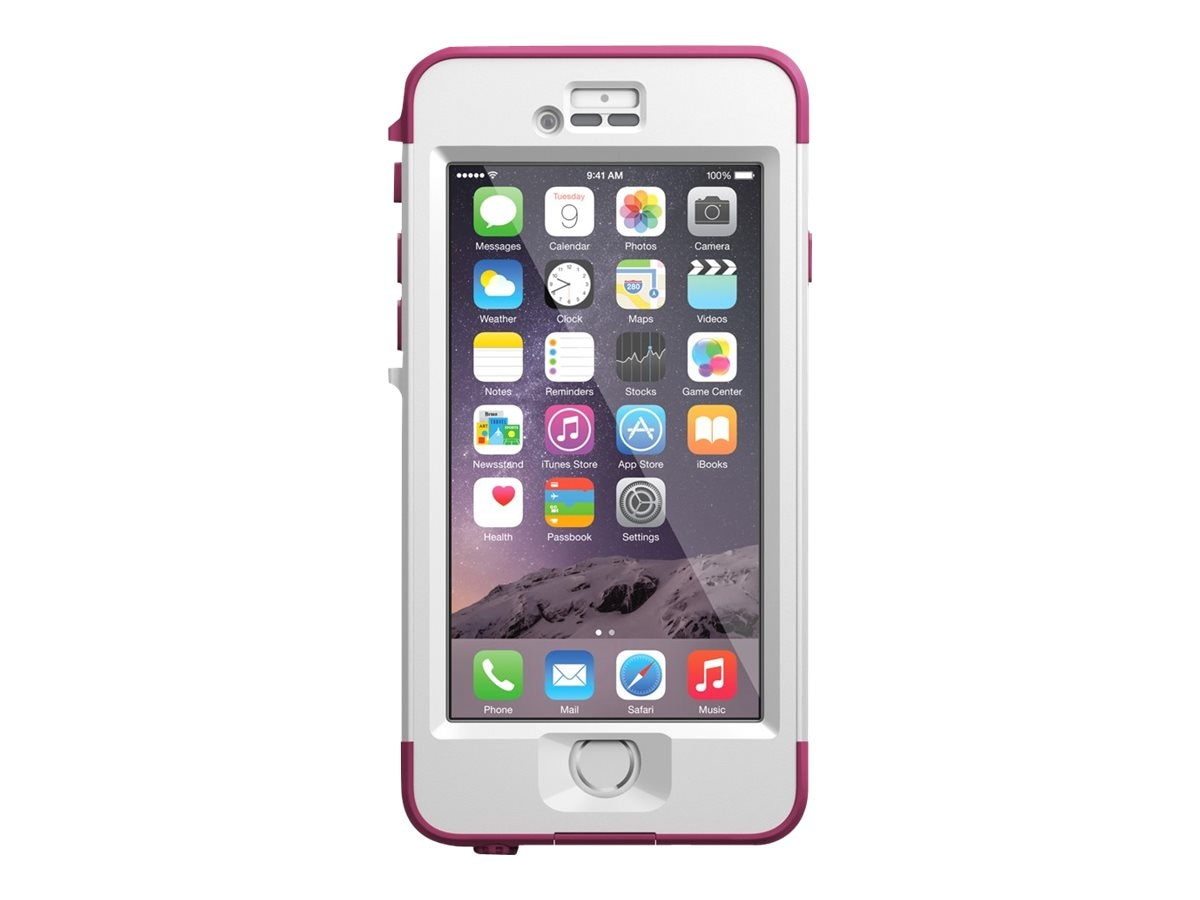Lifeproof Nuud V2 for iPhone 6, Pink Pursuit, 77-51281, 23208293, Carrying Cases - Phones/PDAs