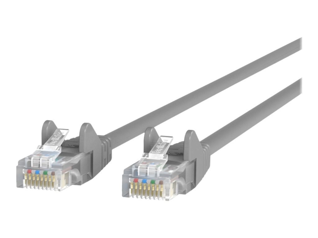 Belkin Cat5e UTP Snagless Patch Cable, Gray, 15m, A3L791BT15M-S
