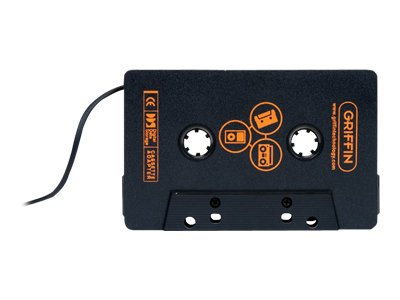 Griffin DirectDeck Universal Cassette Adapter, GC17041-2, 16695564, Digital Media Player Accessories
