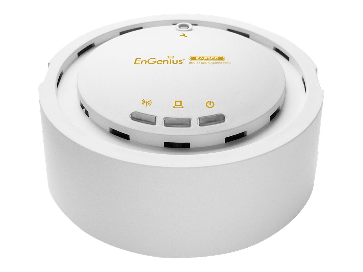 Engenius Technologies Business-Class 29DBM High-Power Wireless N 300Mbps Access Point, EAP300, 13299048, Wireless Access Points & Bridges