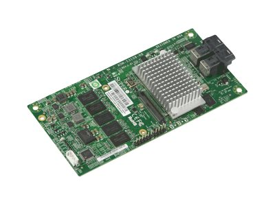 Supermicro Low Profile 12Gb s 8-Port SAS Internal RAID Adapter, AOM-S3108-H8