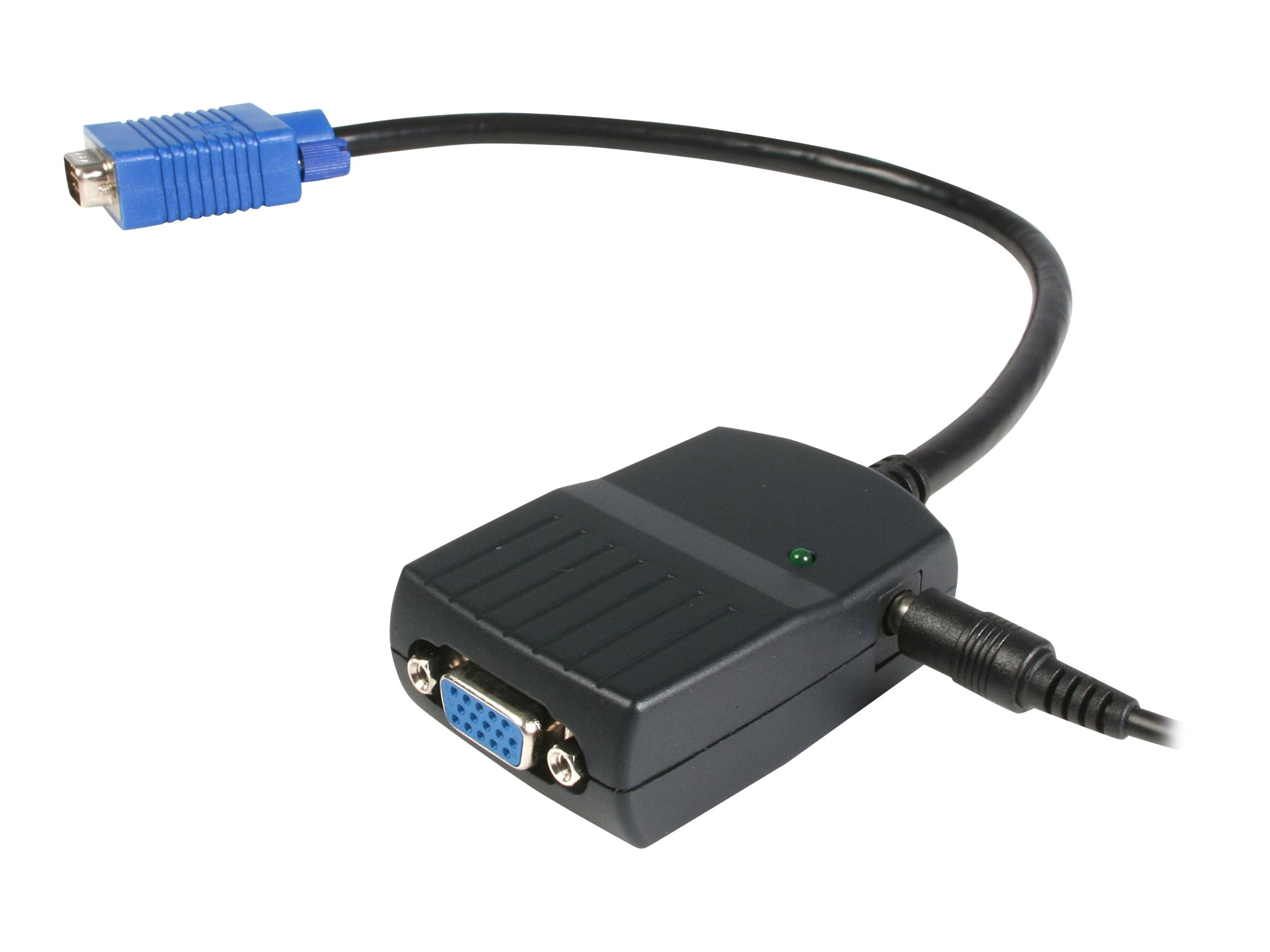 StarTech.com 2-Port VGA Video Splitter, USB Powered, ST122LE