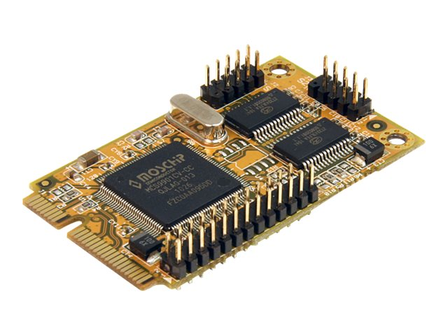 StarTech.com 2s1p Serial Parallel Combo Mini PCI Express Card for Embedded Systems, MPEX2S1P552, 13319459, Controller Cards & I/O Boards