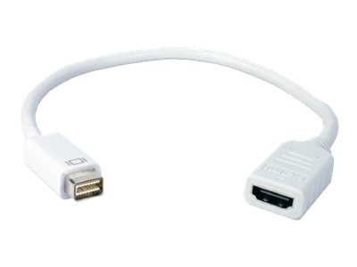QVS MINI-DVI Male to HDMI Female Digital Video Adapter