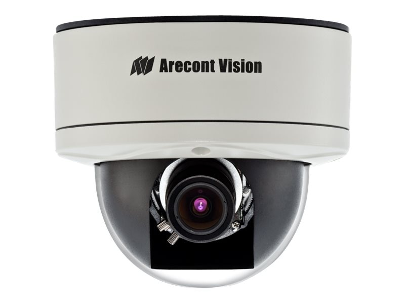 Arecontvision 1.3MP MegaDome 2 H.264 Day Night PoE Camera with 3.4 to 10.5mm Varifocal Lens & Heater, AV1255DN-H