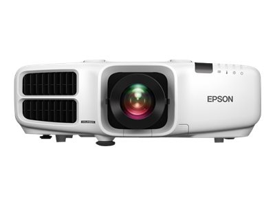 Epson PowerLite Pro G6470WU WUXGA 3LCD Projector with Standard Lens, 4500 Lumens, White, V11H701020