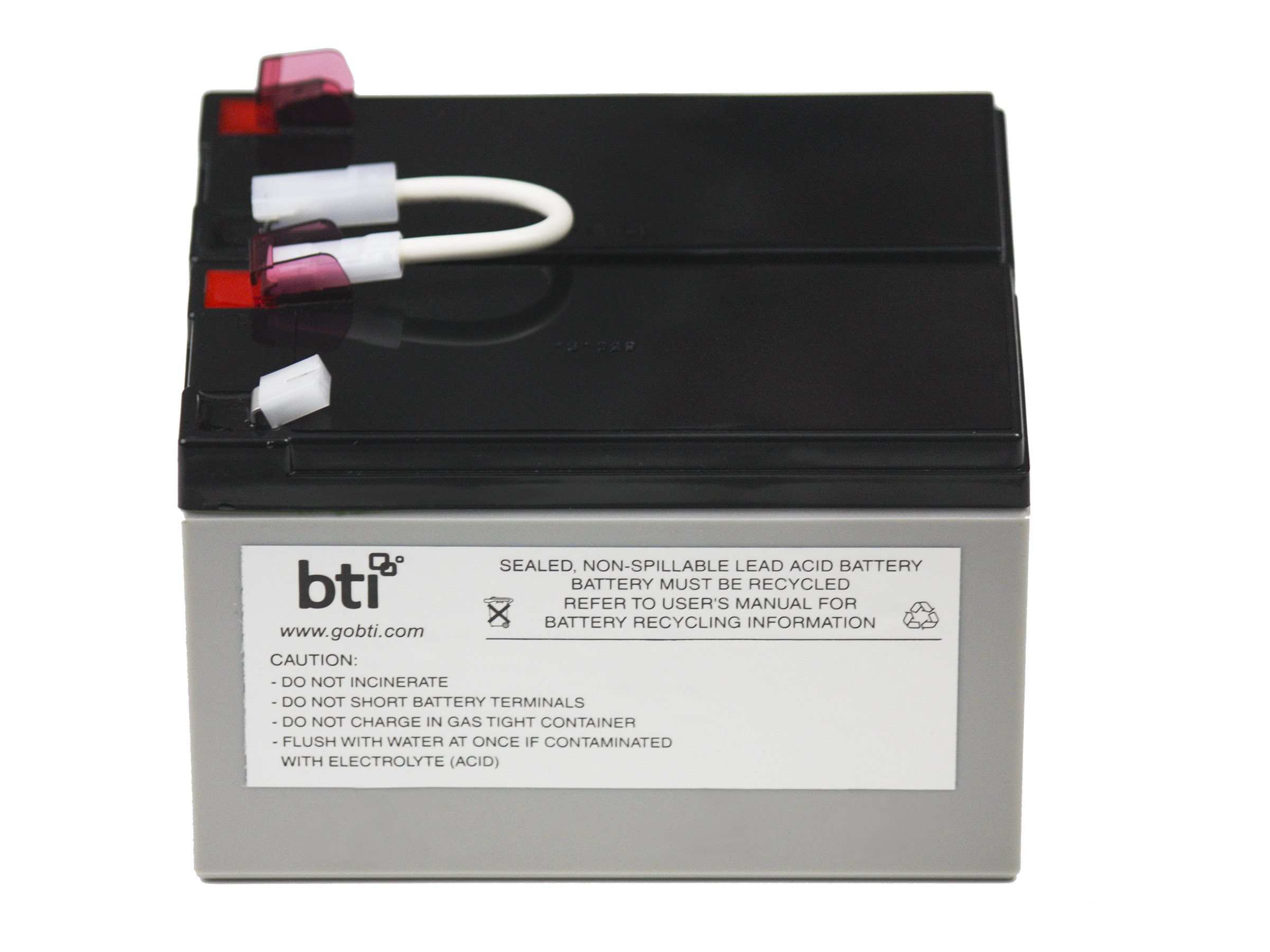 BTI Replacement Battery Cartridge APCRBC109 for BX1300LCD UPS