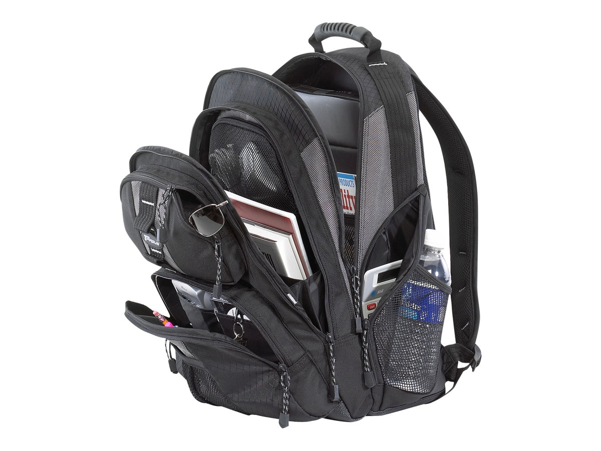 Targus 15.4 Sport Standard Backpack, Platinum Black
