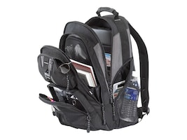 Targus 15.4 Sport Standard Backpack, Platinum Black, TSB212, 234088, Carrying Cases - Notebook
