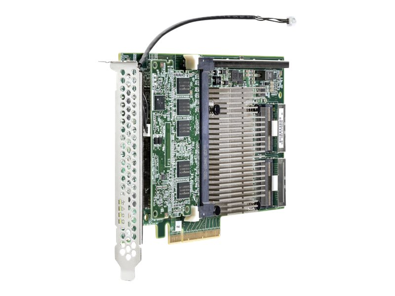 HPE Smart Array P840 4GB FBWC 12Gb 2-ports Int SAS Controller, 726897-B21, 18155570, Controller Cards & I/O Boards