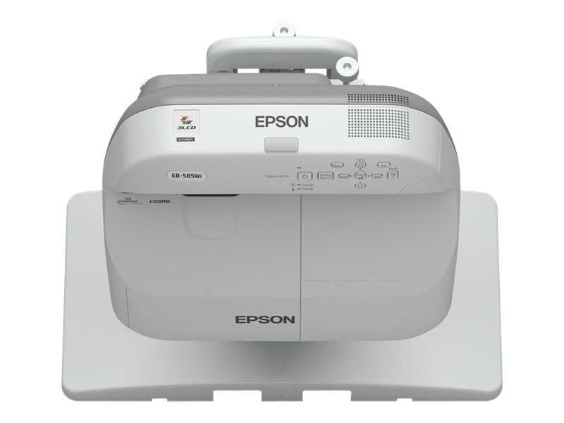 Epson BrightLink 595Wi Interactive WXGA 3LCD Projector, 3300 Lumens, White, V11H599022