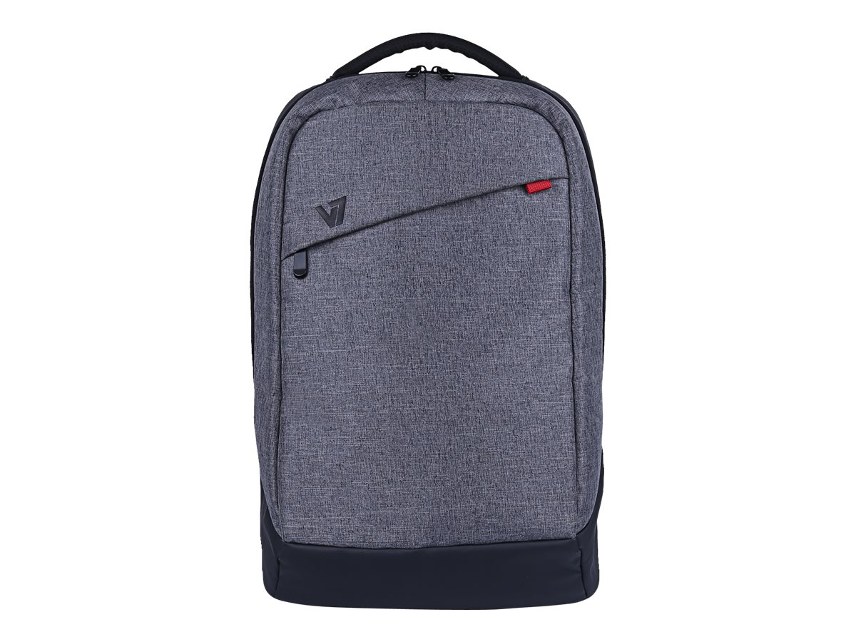 V7 Laptop Backpack 16 15.6 15.4 Trendy Splash-Proof Material