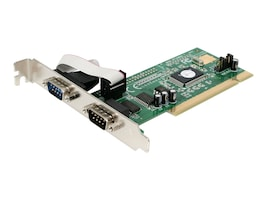 StarTech.com 2-Port 16550 Serial PCI Card, PCI2S550, 186765, Storage Controllers