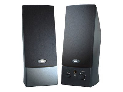 Cyber Acoustics 2-piece USB Powered Speaker System, Black, CA-2016WB