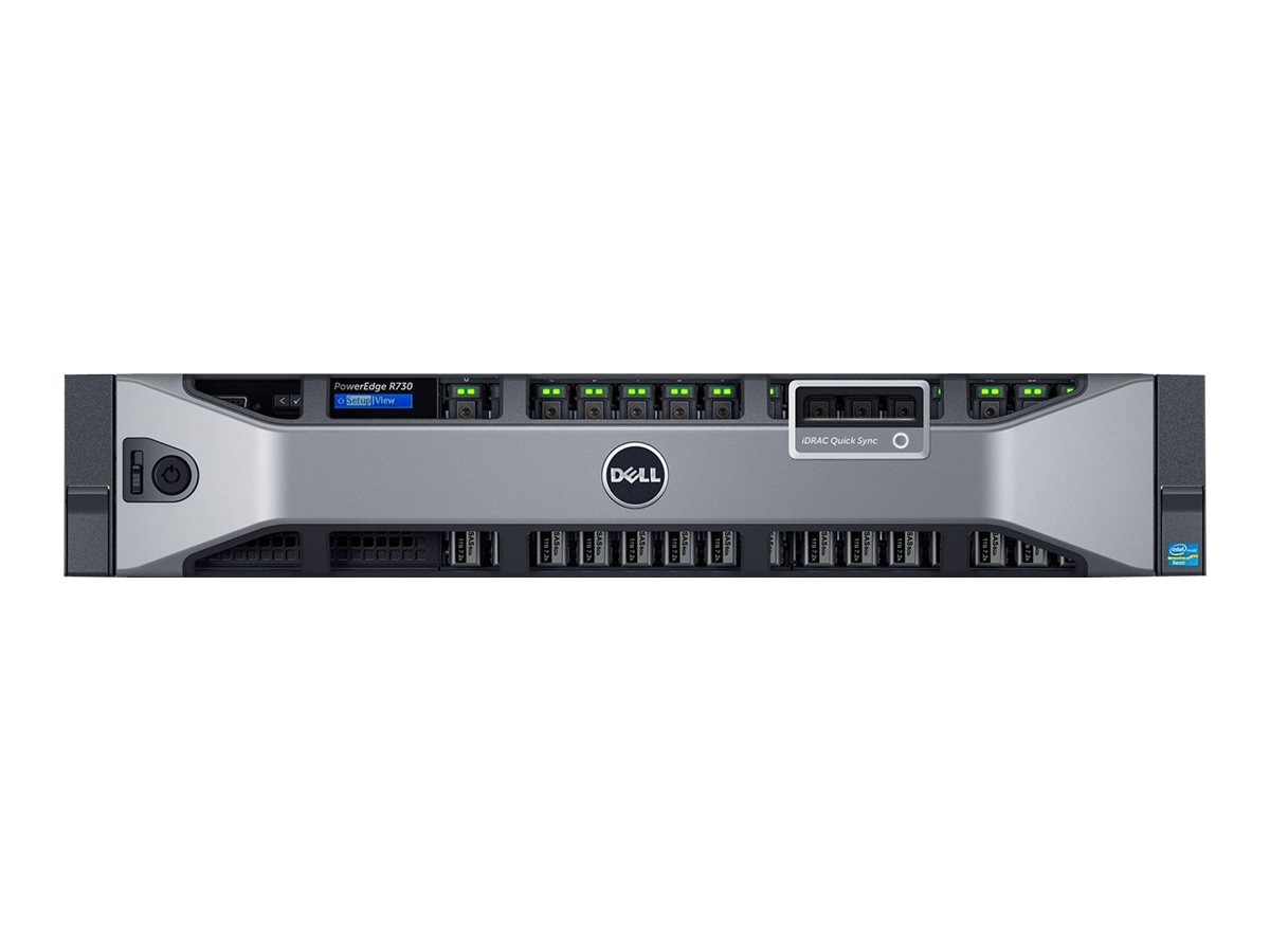 Dell PowerEdge R730 Xeon E5-2640 v3 8GB H730, 463-4003, 18235060, Servers