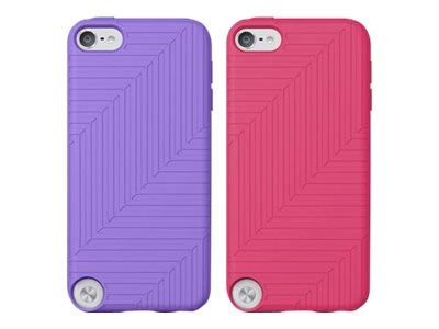 Belkin Flex Case for iPod Touch 5, Volta & Paparazzi Pink (2-pack), F8W142TTC01-2