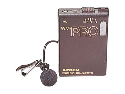 Azden Pro Lapel Mic and Transmitter Only, WLT-PRO, 9555740, Microphones & Accessories