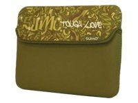Mobile Edge 15 Sumo Graffiti Sleeve, Green, ME-SUMO77159M, 10364633, Protective & Dust Covers