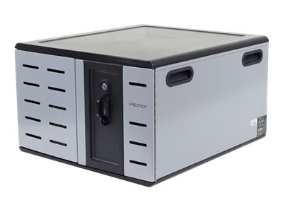 Open Box Ergotron Zip12 Charging Desktop Cabinet, DM12-1012-1, 31141244, Charging Stations
