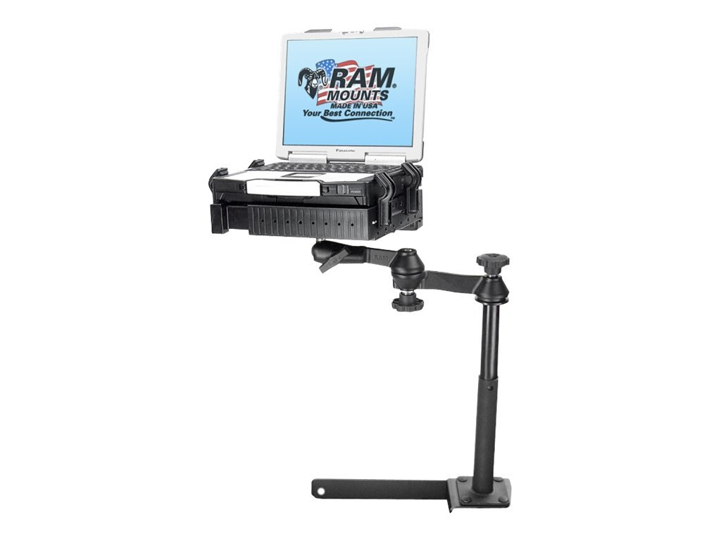 Ram Mounts No-Drill Laptop Mount with 4 Riser for Dodge RAM 1500-5500