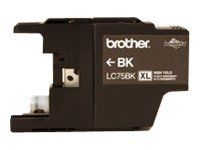 Brother Black Innobella High Yield XL Series Ink Cartridge for MFC-J6510DW & MFC-J6710DW All-In-Ones, LC75BK, 12358624, Ink Cartridges & Ink Refill Kits