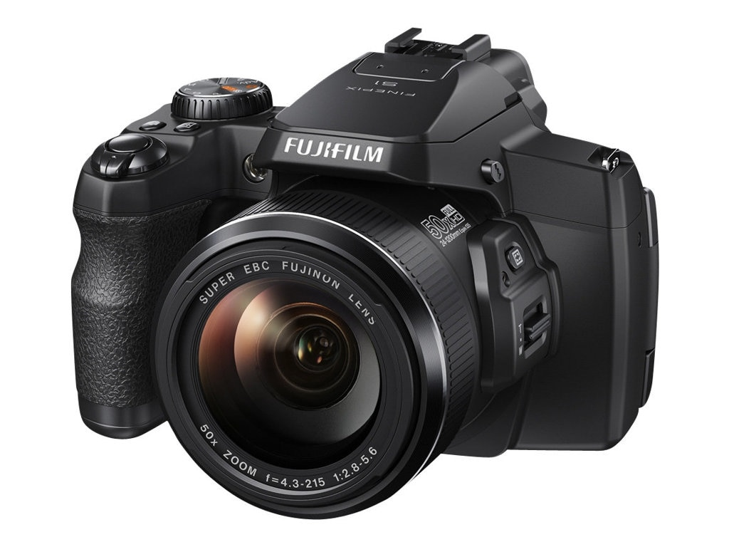 Fujifilm FinePix S1 Camera, 16MP, 50X Zoom, Black, 16408967, 16803377, Cameras - Digital - Point & Shoot