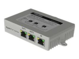 CyberData 2-Port PoE Gigabit Switch, 011187, 15616406, Network Switches