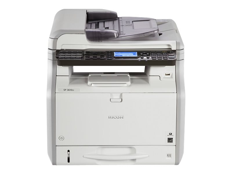 Ricoh SP 3610SF Black & White Multifunction Printer, 407305