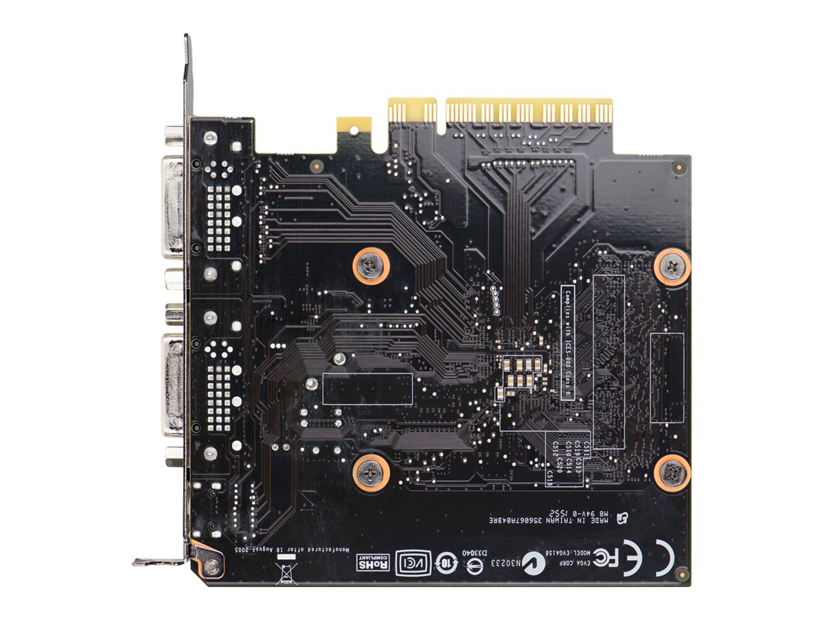 eVGA GeForce GT 710 PCIe Graphics Card, 1GB DDR3, 01G-P3-2716-KR