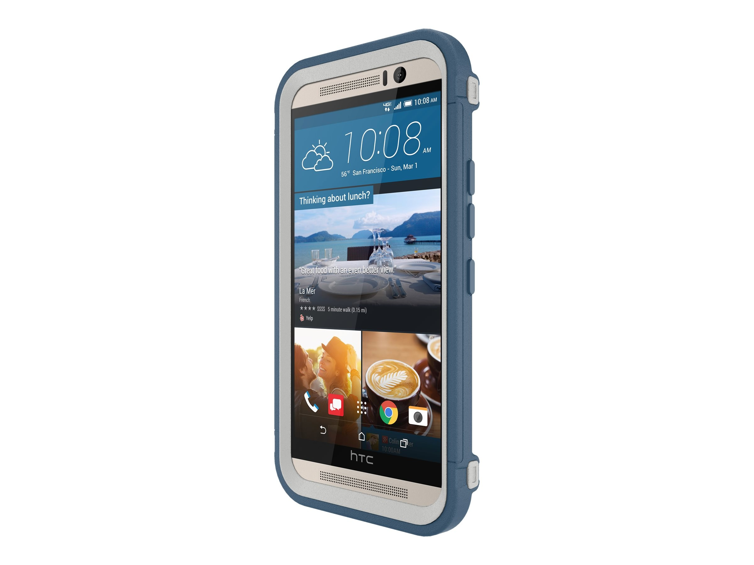 OtterBox Defender Series Case for HTC One M9, Casual Blue