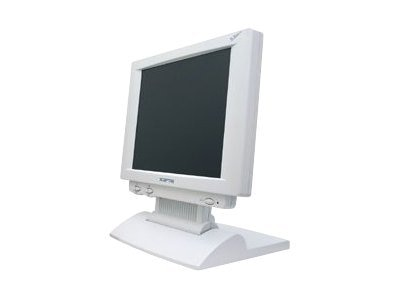 Miracle Business 12.1 LT12W Analog LCD Touch Ready Monitor White, LT12W, 6588642, Monitors - LCD
