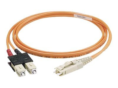 Panduit FJ-LC 62.5 125 OM1 Multimode Riser Cable, 5m, F6D6P-3M5Y