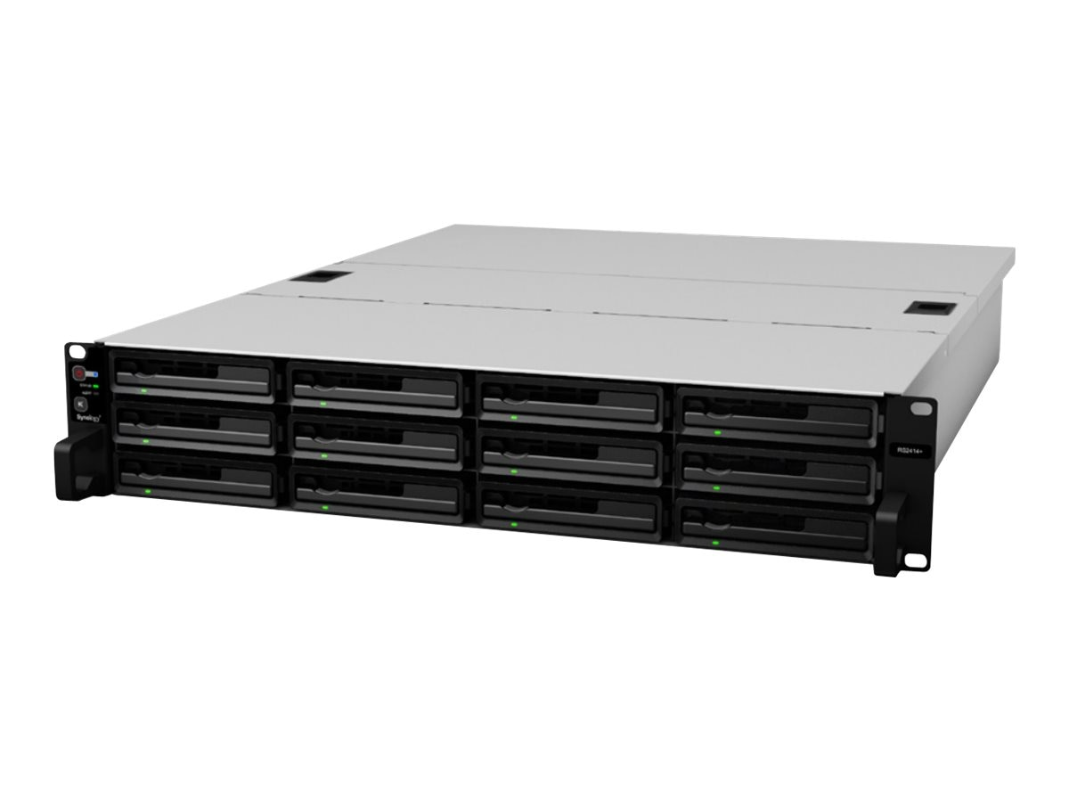 Synology RackStation RS2414RP+ NAS, RS2414RP+, 16407462, Network Attached Storage