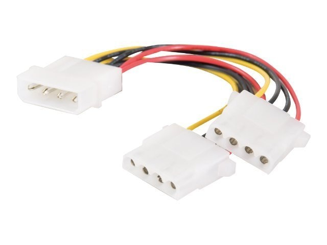 C2G Internal Power Y-Cable, 14in, 20413, 7010578, Power Cords